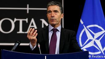 Brüssel Belgien Konferenz Afghanistan NATO Generalsekretär Anders Fogh Rasmussen