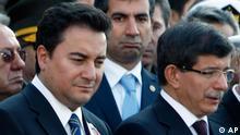 Türkei Ali Babacan und Ahmet Davutoglu