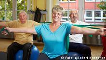 Senioren Sport Fitness Gymnastik