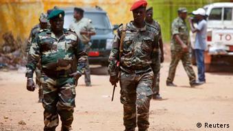 Quase todos os efetivos das Forças Armadas guineenses são antigos guerrilheiros