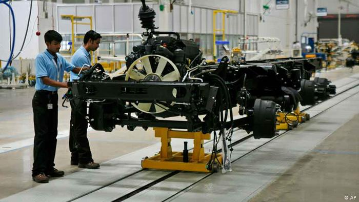 Daimler factory in India