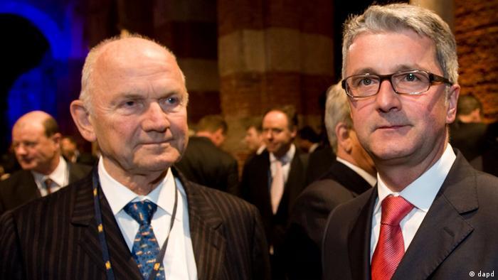 Ferdinand Piech und Rupert Stadler