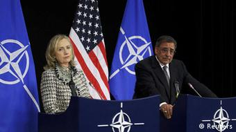 Clinton, Panetta, Nato, Afghanistan