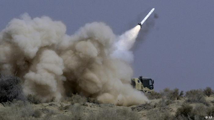 Indien Raketentest Archiv-Bild