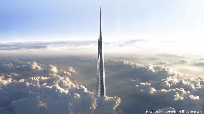 Kingdom Tower Wolken (Adrian Smith/Gordon Gill Architecture)