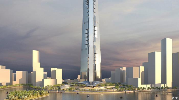 Kingdom Tower, World's Tallest Building, to Begin Construction in Jeddah, Saudi Arabia. (PRNewsFoto/Kingdom Holding Company) THIS CONTENT IS PROVIDED BY PRNewsfoto and is for EDITORIAL USE ONLY**