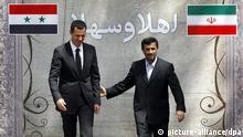 Symbolbild Syrien Iran politische Beziehung