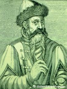Johannes Gutenberg, inventor da tipografia moderna