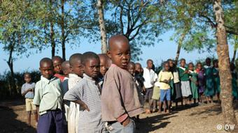 Young pupils in Kenya