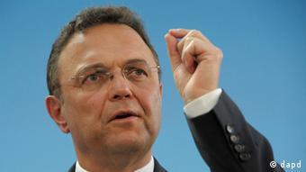 Innenminister Friedrich im April 2012 auf der deutschen Islamkonferenz