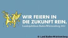 ***Das Bild darf nur in Zusammenhang mit einer Berichterstattung über das Thema Baden-Württemberg feiert 60 Jahre verwendet werden.*** --- 2012_04_20_Baden_Württemberg_60_jahre.psd