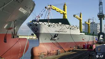 خطوط کشتیرانی جمهوری اسلامی مشمول تحریمهای آمریکا هستند