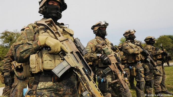 Afghanistan Soldaten KSK (picture-alliance/dpa)