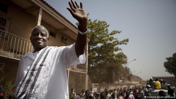 Serifo Nhamadjo, Presidente interino da Guiné-Bissau