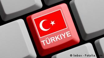 Türkei Fahne Tastaturtaste