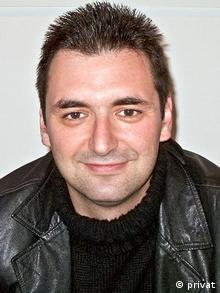 Anestis Samourkasidis, Mitglied der griechischen Piratenpartei. (Foto: DW)
