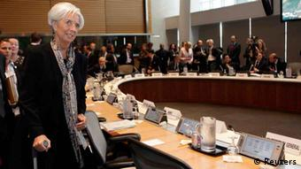 Christine Lagarde World Bank Treffen