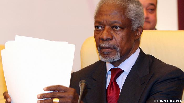 Der internationale Syrien-Beauftragte Kofi Annan (Foto: picture-alliance/dpa)