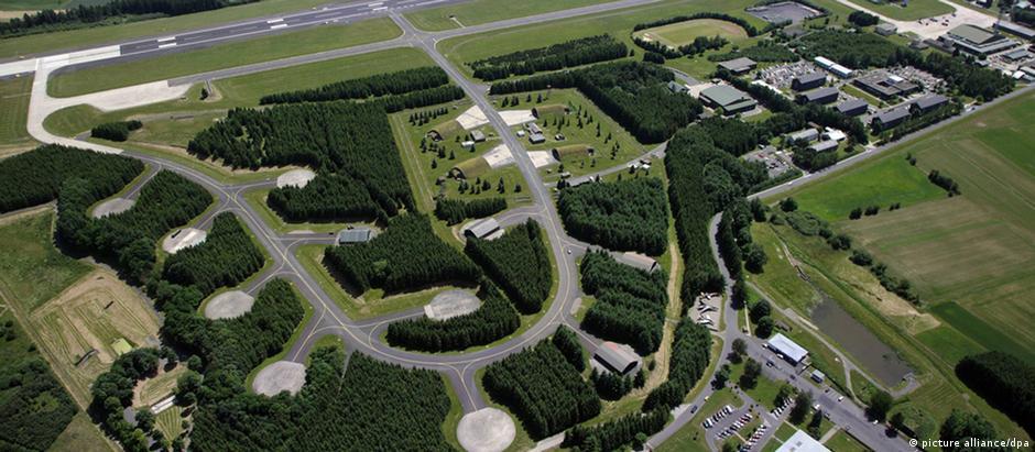 Base aérea de Büchel, na região vulcânica do Eifel