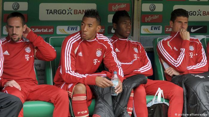 Fußball Bundesliga Werder Bremen - Bayern München Franck Ribery (picture-alliance/dpa)