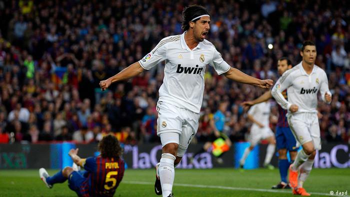 Fußball Real Madrid gegen FC Barcelona