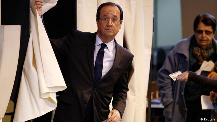Präsidentschaftswahlen Frankreich 2012 Francois Hollande