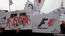 Bahrain Anti-Formule 1 Banner