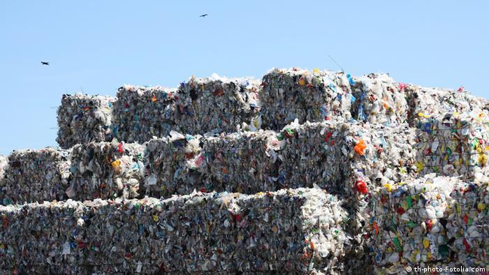 Symbolbild Müll Recycling