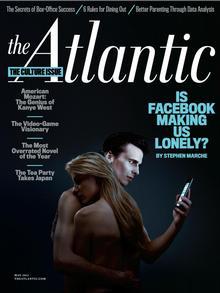 عکس روی جلد شماره بحثبرانگیز مجله آتلانتیک