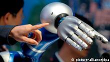 Hannover Messe 2012 künstliche Hand