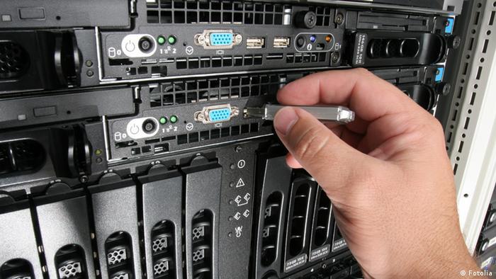 A data server
