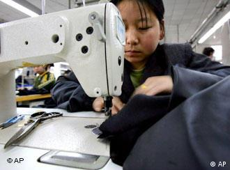 Thousands of Chinese laborers work in the Italian textile industry