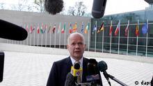 ویلیام هیگ، وزیر خارجهی بریتانیا، شرایط کنونی در سوریه را شبیه به وضعیت در بوسنی در دههی ۱۹۹۰ میداند