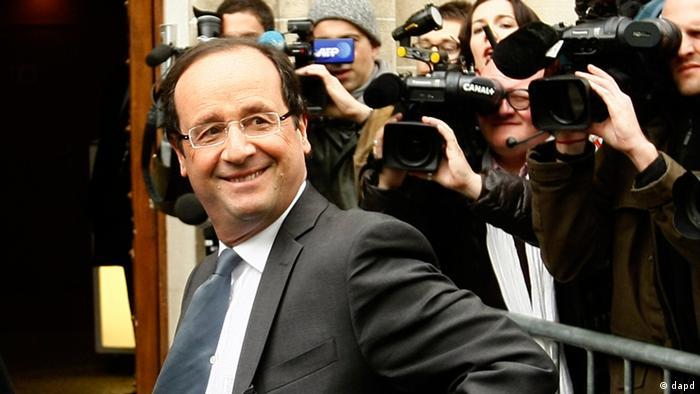 Francois Hollande Wahl in Frankreich