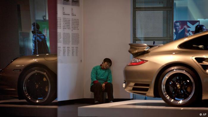 Peking China Porsche Showroom 2011
