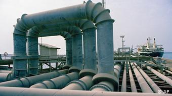 oil installation in Iran