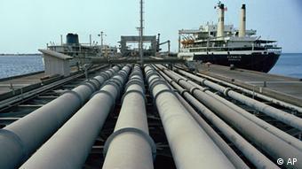 Нефтеналивной терминал в Иране