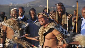 Südafrika Hochzeit Präsident Jacob Zuma zeremonie