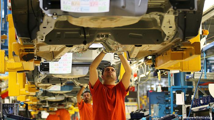 Ford Arbeiter Köln Produktion Fertigung