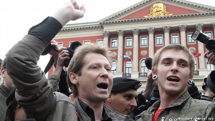 Homosexuell auf Osteuropa