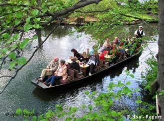 Gently down the stream: the Spree is popular with vacationers