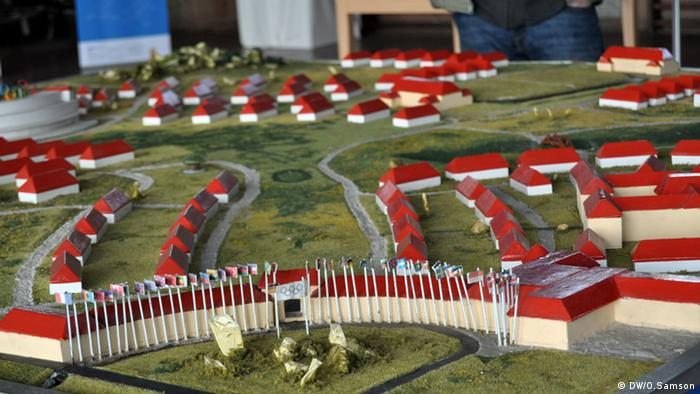 Model of Olympic village