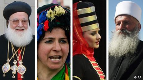 Symbolbild Syrien ethnische Minderheiten