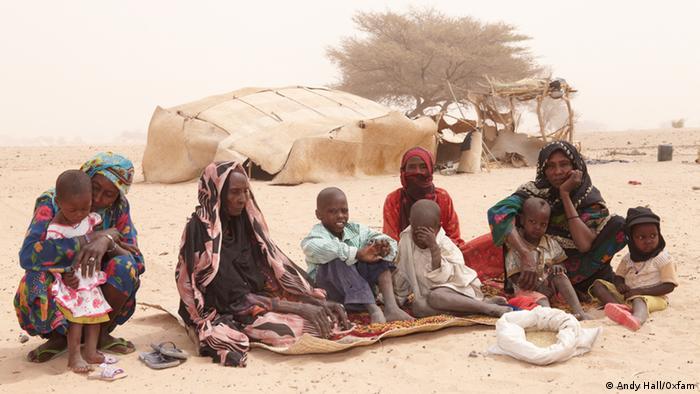 Hunger im Sahel Bildergalerie Tschad (Andy Hall/Oxfam)