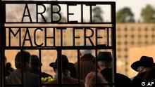 Deutschland Gedenken in Sachsenhausen Sinti und Roma