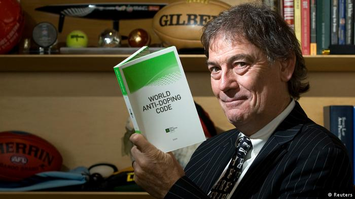 David Howman von der World Anti-Doping Agency WADA. Foto: REUTERS)