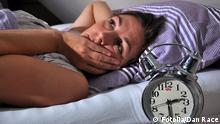 Symbolbild Schlaflosigkeit Schlafproblem
