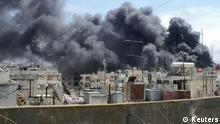 Syrien Homs Rauch ARCHIV