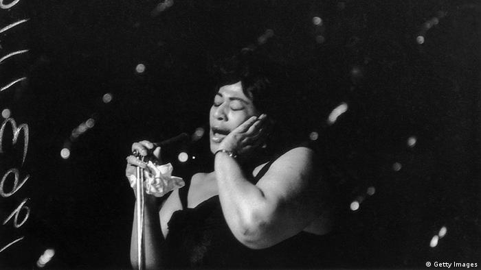 Ella Fitzgerald in 1963 (Getty Images)