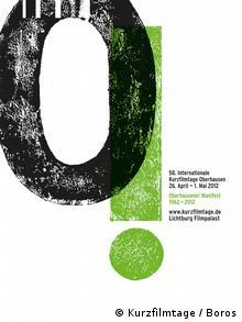 Plakat Internationales Kurzfilmfestival 2012 (Foto: International Short Film Festival Oberhausen)